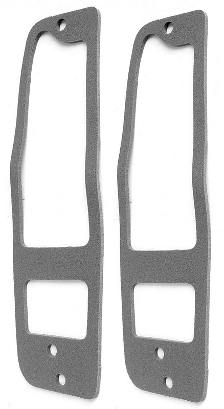 Tail Light Lens Gaskets, pair