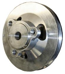 Crankshaft Pulley, 170/200ci 6 cyl, Aluminum