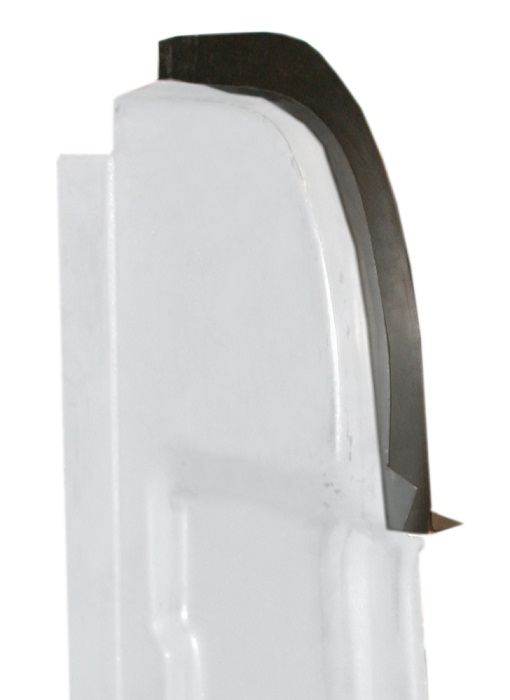 Upper Rear Door Pillar Post Extension Panel, Driver
