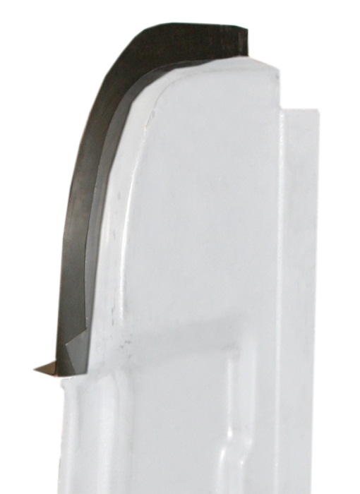 Upper Rear Door Pillar Post Extension Panel, Passenger