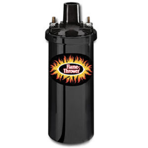 Pertronix Flame-Thrower I Coil Black, 170/200 6-cyl