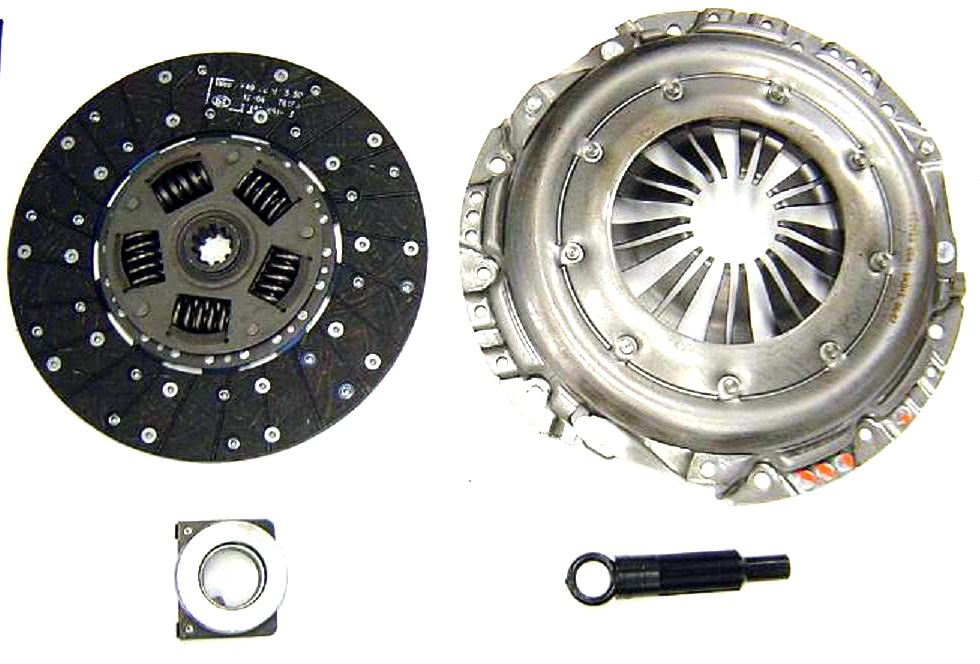"Clutch Kit - 302/360/390 V8, 240/300 L6, 11"" Diaphragm Style, 65-77 Ford Truck"