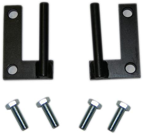 Quick Release Door Limiting Strap Hardware, pair