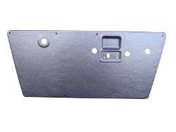 Formed Plastic Door Panels, Black Smooth, 68-77 Ford Bronco (pair)
