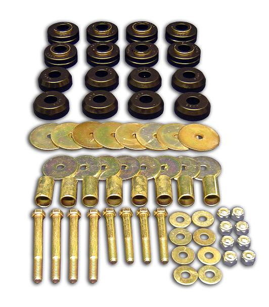 Body Mount Bushing & Hardware Kit