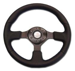 Custom Steering Wheel - Black w/Adapter