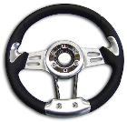 Deluxe Steering Wheel w/Adapter