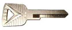 Key Blank w/FORD imprint (for Ignition or Door)
