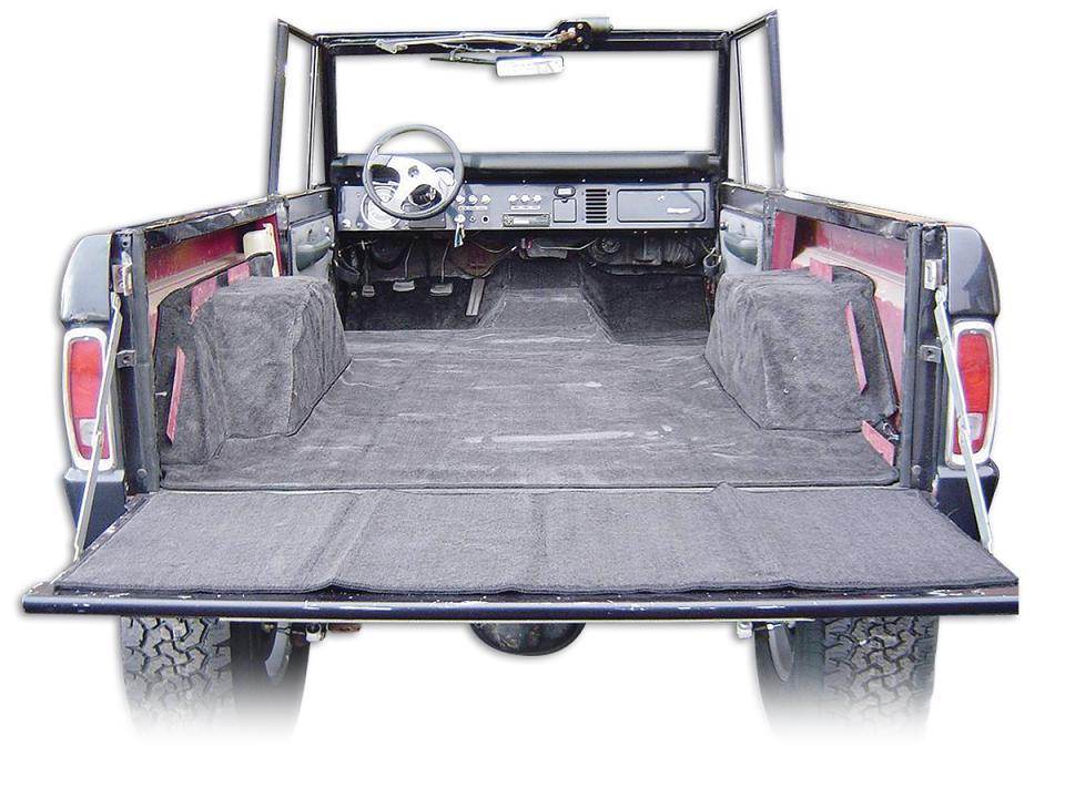 Standard Black Or Gray Full Carpet Kit 77 Bronco Toms