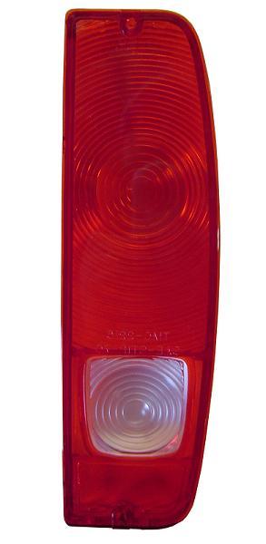 Passenger Tail Light Lens w/Reverse Light Lens