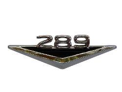 Fender Script Emblem - Engine, 289 (each)