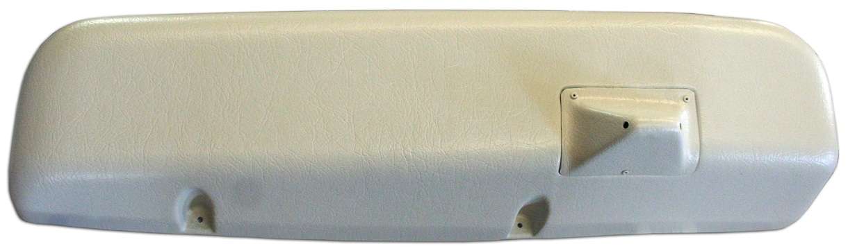 Wiper Cover - Electric Wipers, Parchment White, 69-77 Ford Bronco