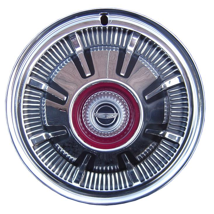 Rear Hub Cap - 67-77 Ford Bronco