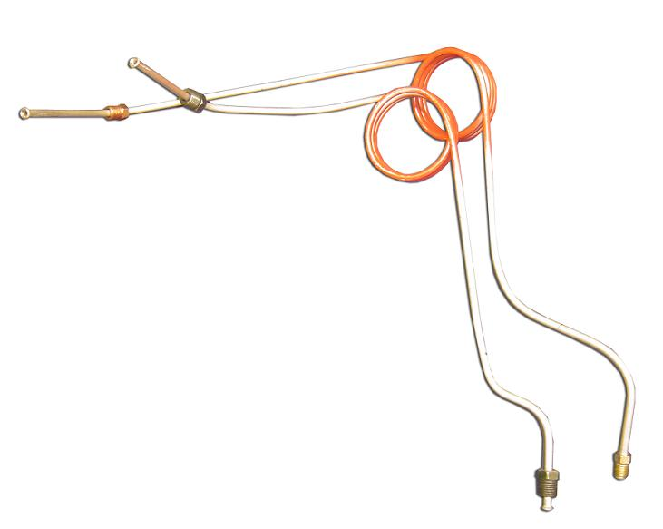 Master Cylinder Brake Lines - Manual Drum, 67-75 Ford Bronco - Toms ...