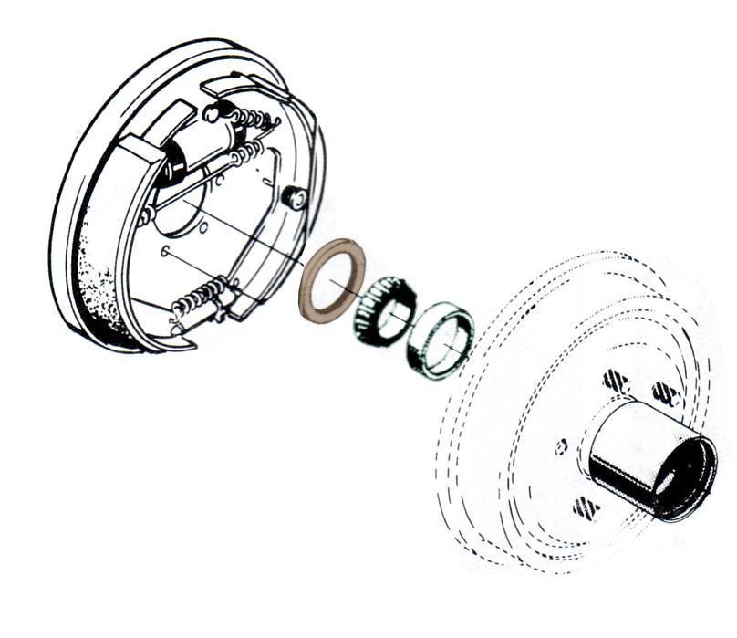 wheel hub seal - dana 44  72-77 ford bronco  each