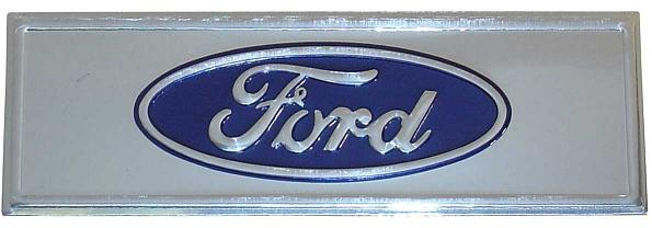 Emblem - Ford Sticker (for driver inner rocker panel)