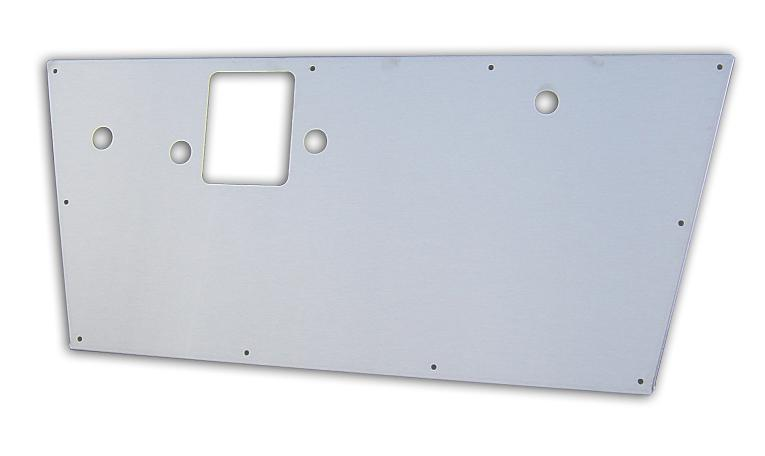 Door Panels - Stainless Steel, 68-77 Ford Bronco, pair