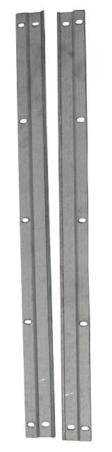 Tailgate Strips - Side, Metal, 66-68 Ford Bronco (per pair)