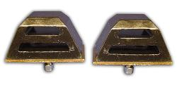 Heavy Duty Front End Bump Stops for Lifted 66-77 Ford Broncos (pair)