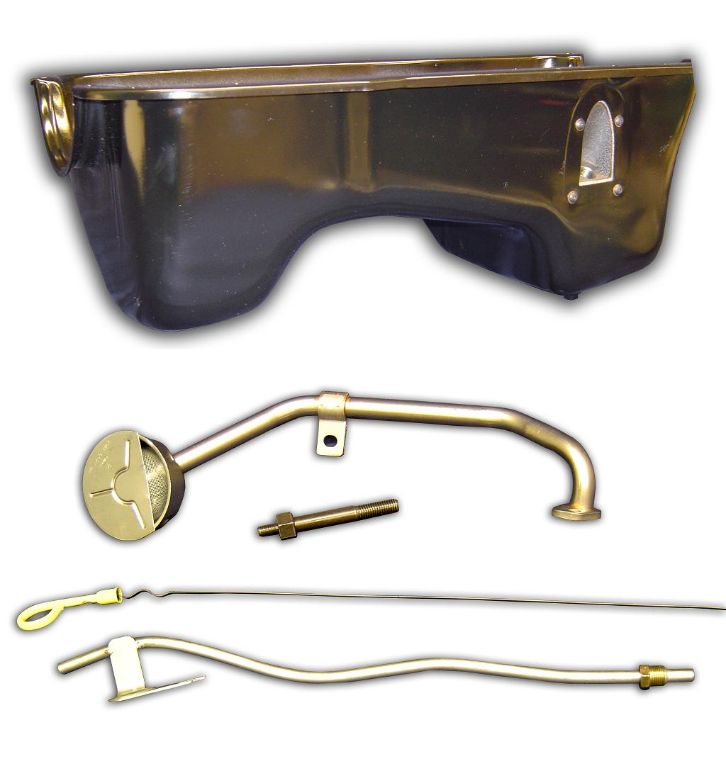 351W Oil Pan Kit - Dual Sump, Fits Stock or Lifted