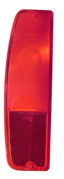 Driver Tail Light Lens - 1966 Ford Bronco, 64-66 F150