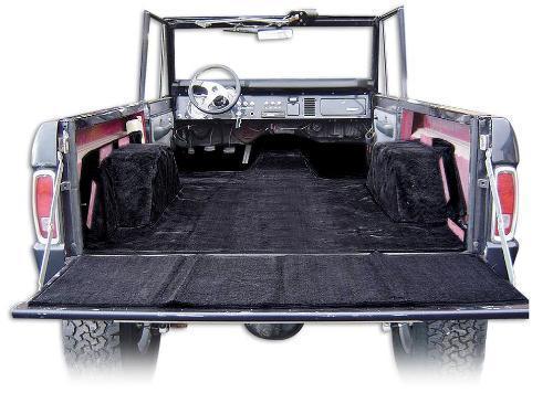 Standard Black Full Carpet Kit 66 76 Ford Bronco Toms