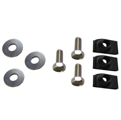 Battery Tray & Horn Bolt Kit, Stainless Steel