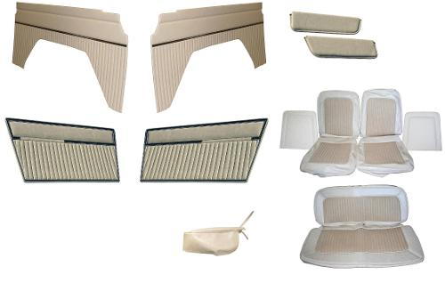 Vinyl Interior Trim Kit, Parchment 1977 Ford Bronco Only