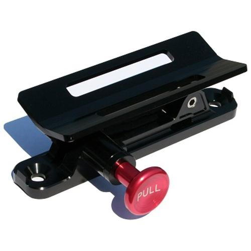 BLACK Quick Release Fire Extinguisher Roll Bar Mount, 66-96 Ford Bronco