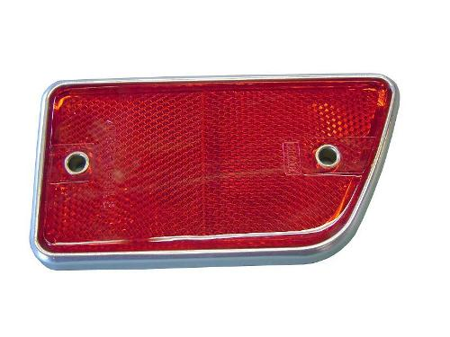 Rear Red Side Marker - Passenger, 68-69 Ford Bronco
