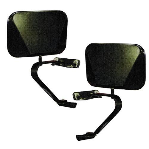 black fold away side mirrors 66 77 78 96 ford bronco pair toms rh tomsbroncoparts com 1981 Ford Bronco 1986 Ford Bronco