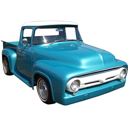 down truck built pin parts ford vehicles from upside two of separate