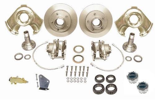 Disc Brake Major Kit - Dana 30 & 44, Prop Valve & Bracket, Mile Marker Hubs, Wheel Bearings