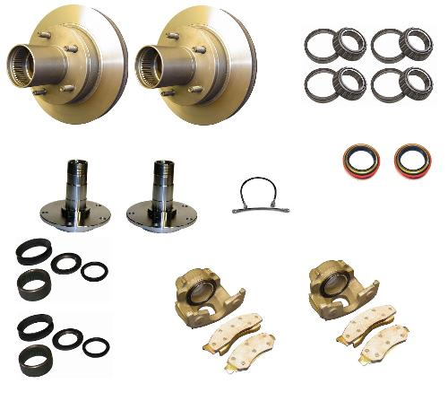 76-77 Ford Bronco Front Disc Brake Rebuild Kit