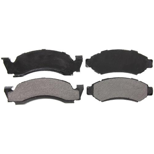 Front Disc Brake Pads, Semi-Metallic, Bonded, 76-77 Factory Disc Brakes