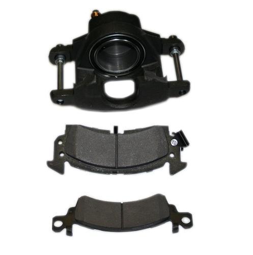 Front Brake Caliper w/ Pads for  Disc Brake Conversions, Passenger Side, 66-75 Bronco