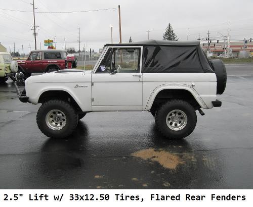 W S on 1996 Bronco Lift Kit