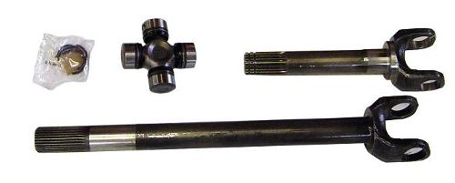1973-1979 Ford F-150, 1978-1979 Bronco Chromoly Driver Axle w/ 760X U-Joint