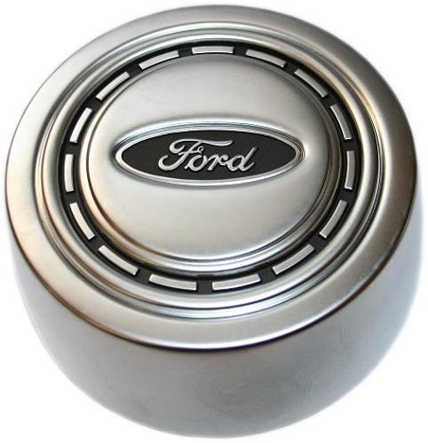 OE Style Factory Horn Button, Argent Silver, 66-73 Ford Bronco