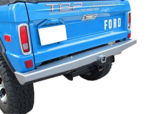 Impact Series Rear Bumper, No Rack