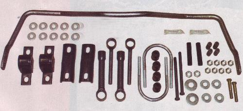 "Front Anti-Sway Bar Kit, Street Version, 3-5.5"" Suspension Lift"