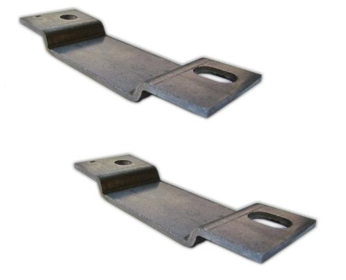 Rear Axle Bump Stop Mounting Brackets, Pair