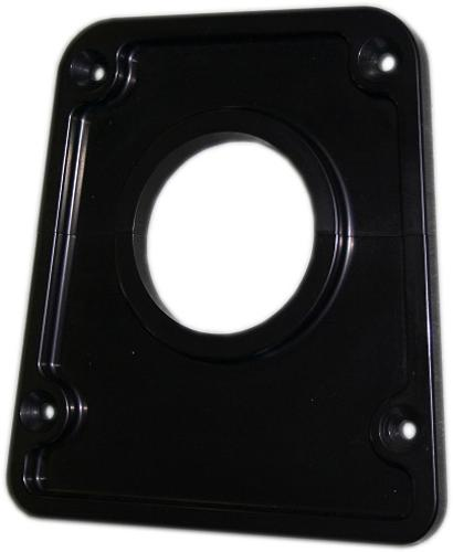 Show Quality Billet BLACK Aluminum Steering Column Bezel for Aftermarket Tilt Columns