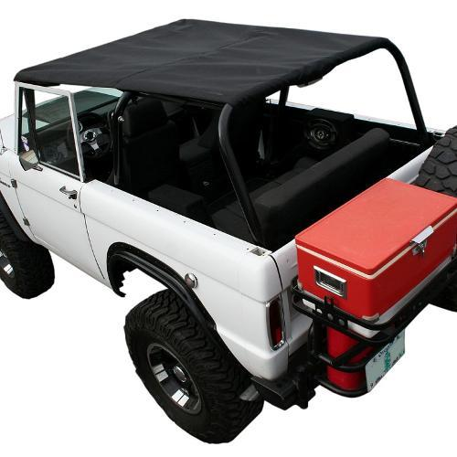"""BREEZER"" Rollbar Top Skin Only for Family Bar - Black"