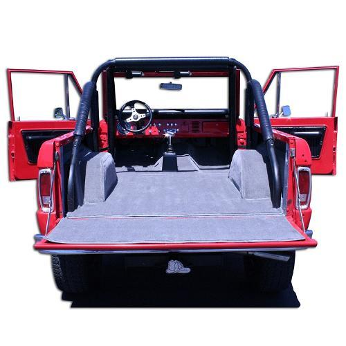 Premium Tan Full Carpet Kit 66 76 Ford Bronco Toms