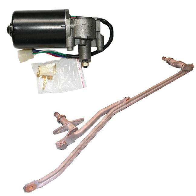 Wiper Linkage & Motors