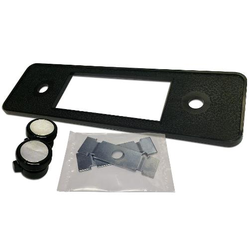 DIN Repair Kit for Retrosound Stereo (#0996B) - Black Crush Finish