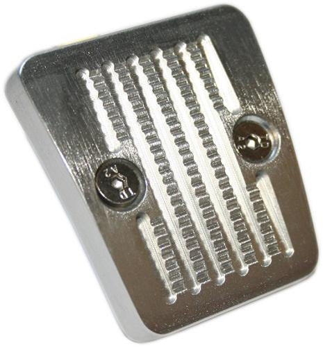 Billet Aluminum Brake Pedal Pad - Small, Emergency Brake
