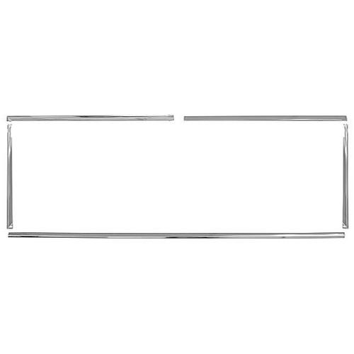 Liftgate Window Chrome Trim Kit