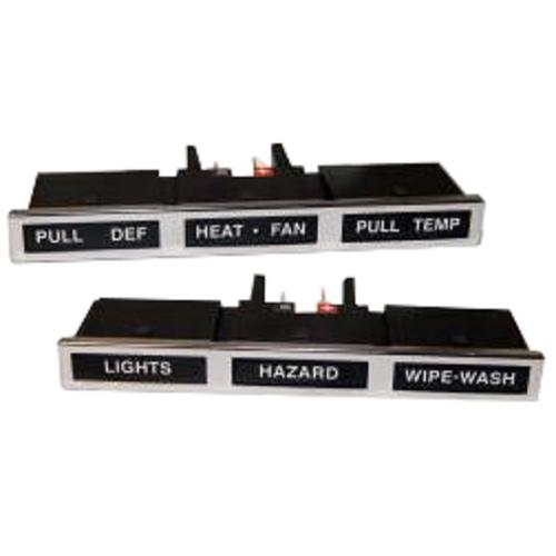 Dash Control Light Bars - 1973 Ford Bronco, pair *FREE SHIPPING IN THE US!*